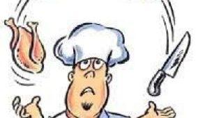 Fælles madlavning i seniorgruppen