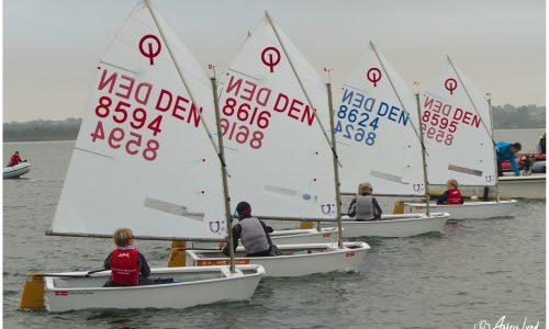 Egå Sejlklub vinder optimist hold DM