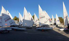 Laser lejr i Egå Sejlklub